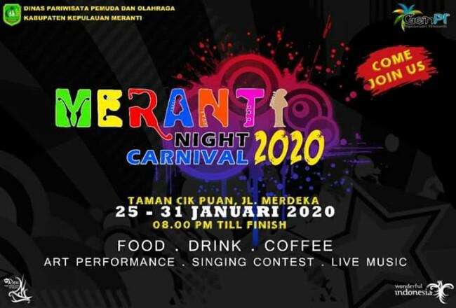 Meranti Night Carnival.