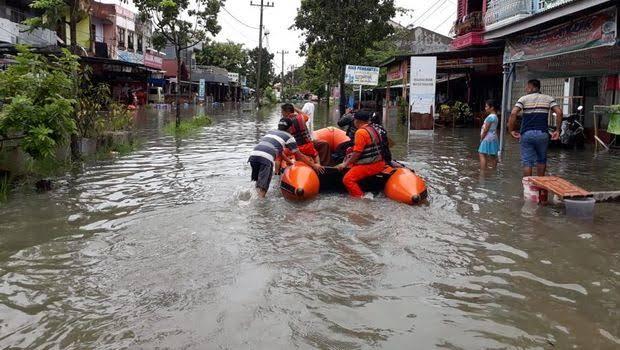 Banjir di Pekanbaru beberapa waktu lalu.