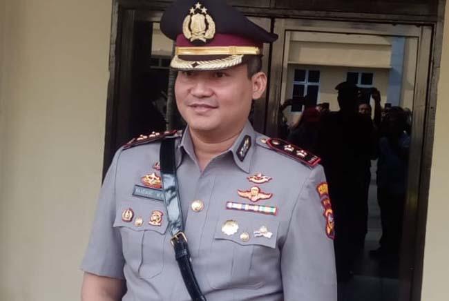 Kapolresta Pekanbaru AKBP Nandang Mu