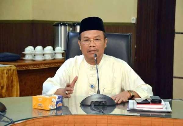 Sekretaris Tim Gugus Tugas Percepatan Penanganan Covid-19 Kota Pekanbaru, Azwan.