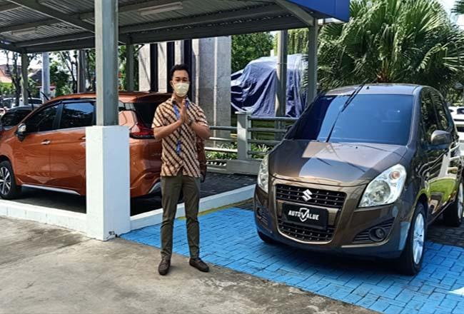 T Suzuki Indomobil Sales (SIS) memberikan kemudahan bagi pelanggan melalui program trade-in di Auto Value.
