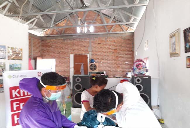 Bantuan khitan untuk 15 anak dhuafa di Pekanbaru.