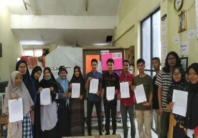 Mahasiswa UIN Suska Riau yang tergabung dalam UKK/UKM.