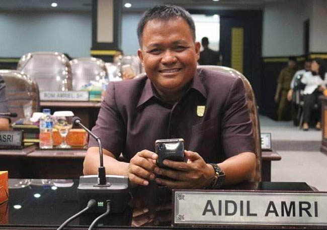 Anggota Komisi IV DPRD Kota Pekanbaru Aidil Amri.