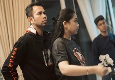 Raffi Ahmad dan Nagita Slavina panik kena prank Atta Halilintar.