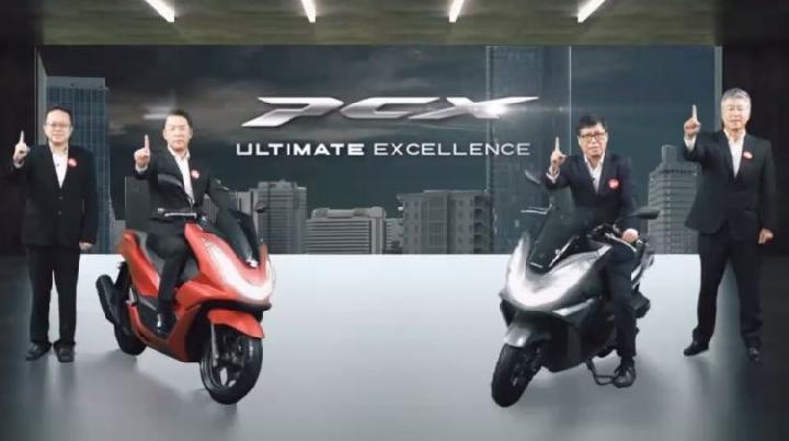 Launching Honda PCX 160 di Jakarta