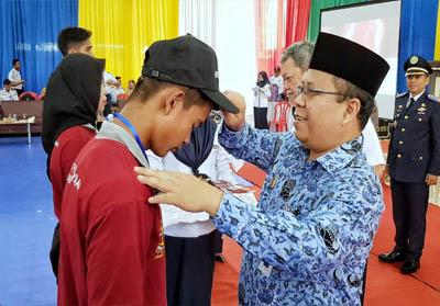 Bupati Kepulauan Meranti Drs H Irwan membuka secara resmi kegiatan Diklat Pemberdayaan Masyarakat Angkatan XXV