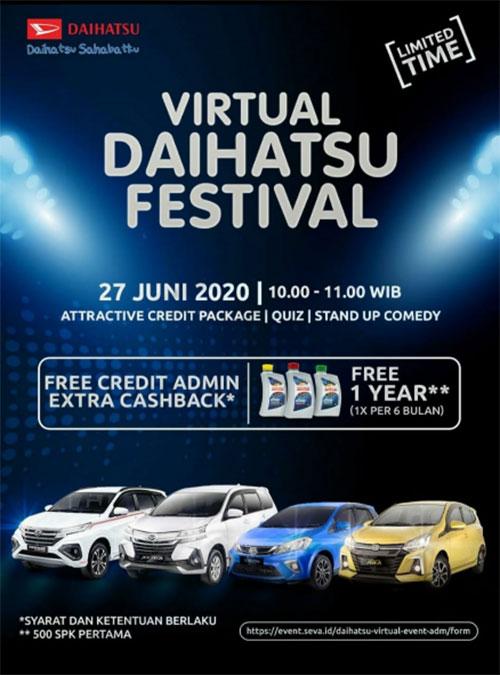 Virtual Daihatsu Festival.