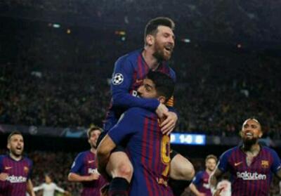 Barcelona kalahkan Liverpool 3-0 di leg pertama Liga Champions.
