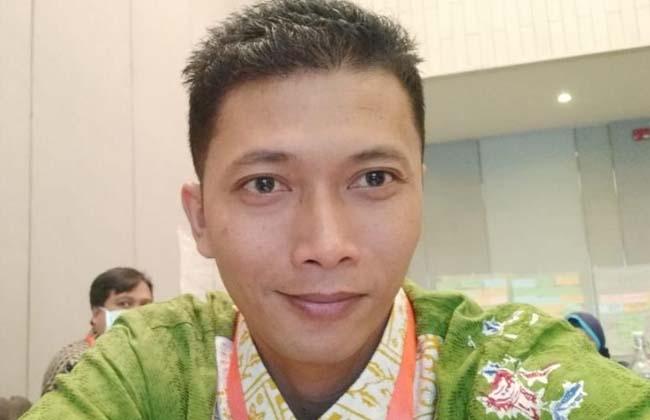 Komisioner KPU Kabupaten Inhu Dwi Apriansyah.
