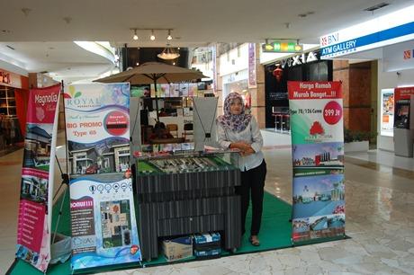 Developer Villa Bunga Arengka menggelar pameran di Mal Ska, Pekanbaru hingga 8 Maret mendatang.