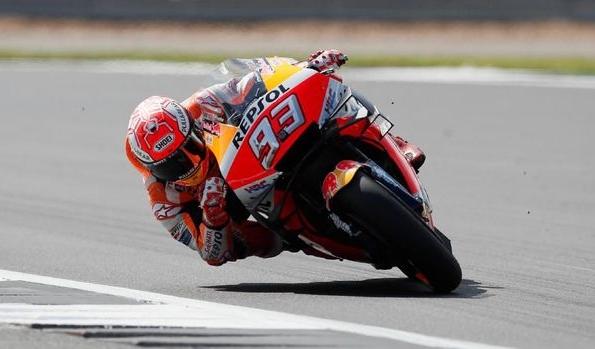 Marc Marquez jadi pemenang terbanyak di MotoGP San Marino.FOTO: Reuters