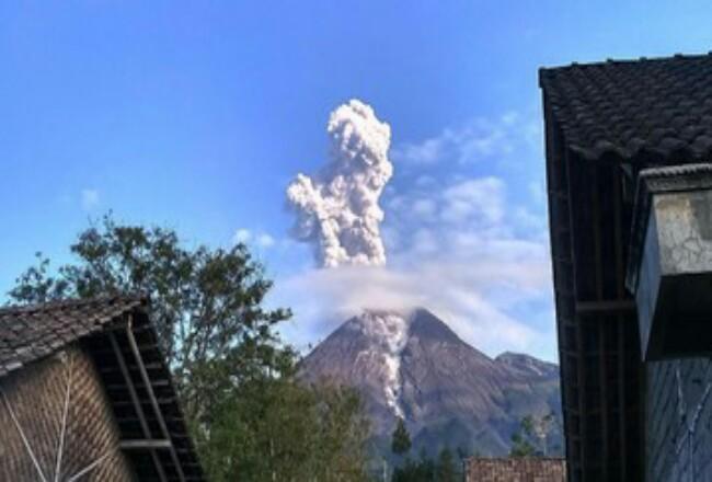 Gunung Merapi. Foto: CNNIndonesia