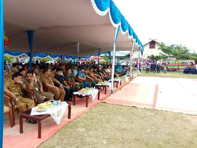 Bakti sosial program KKBPK bersama TNI-Polri tingkat Provinsi Riau tahun 2018 digelar di Kota Dumai.