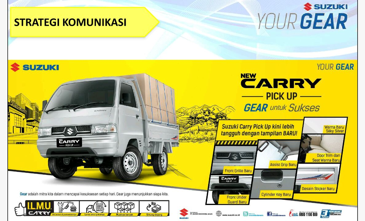 Perubahan Suzuki New Carry Pick Up