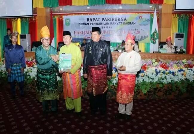 Sidang Paripurna HUT ke-20 Kabupaten Siak.