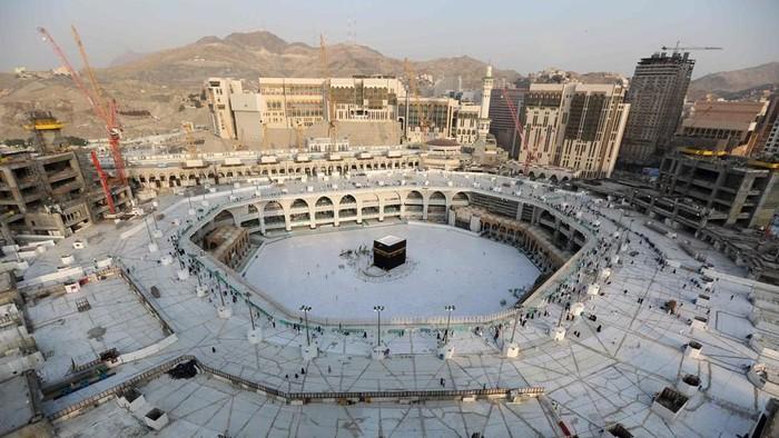 Ibadah haji 2020, begini protokol kesehatan di Masjidil Haram (Foto: AFP)