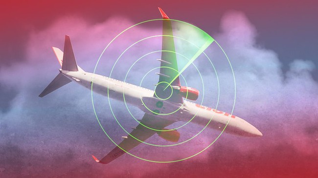 Ilustrasi Lion Air jatuh. Foto : Detik
