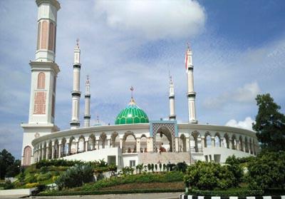 Masjid Agung Islamic Center, Pasir Pangaraian.