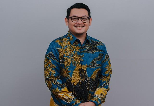 Ketua Umum Hipmi Pekanbaru Rizky Bagus Oka