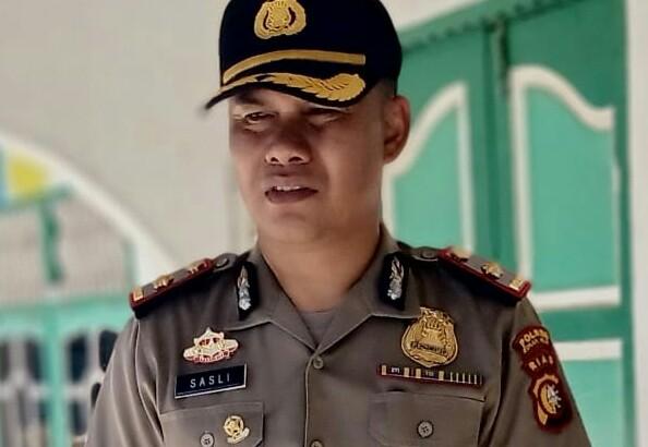 Kapolsek Bangko Kompol Sasli Rais, SH