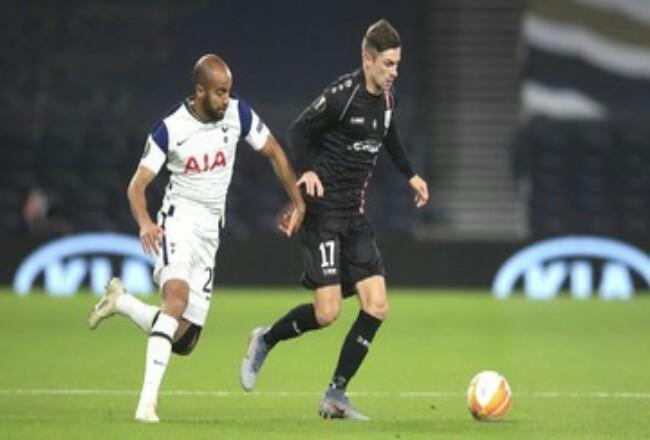 Tottenham Hotspur menang 3-0 atas LASK. Foto: CNNIndonesia