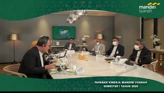 Webinar Mandiri Syariah bersama media