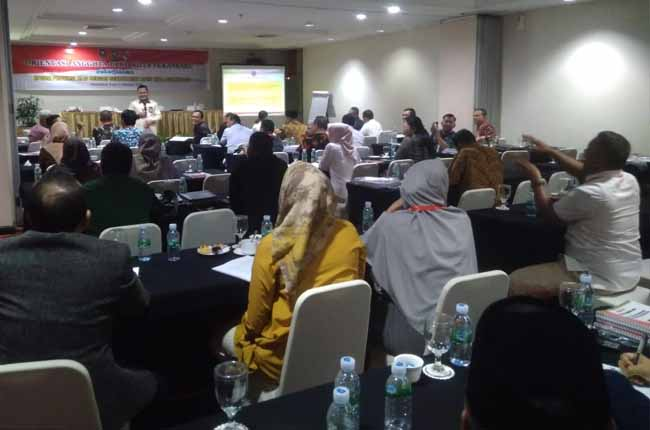 45 anggota DPRD Kota Pekanbaru periode 2019-2024 ikuti orientasi.