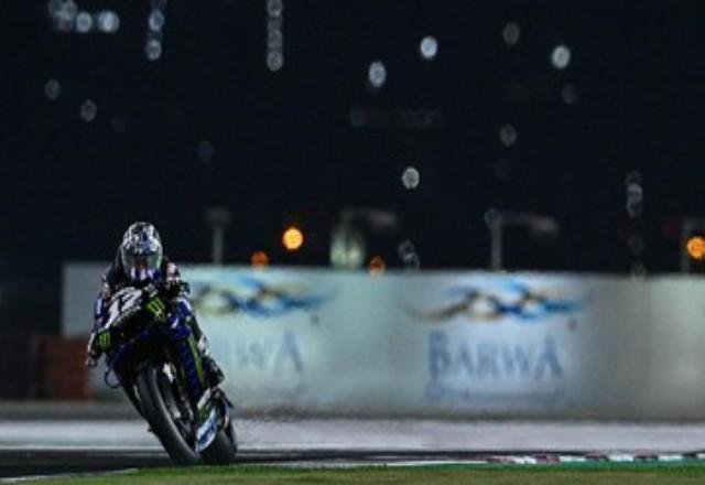 Maverick Vinales menang MotoGP Qatar 2021. Foto: CNNIndonesia