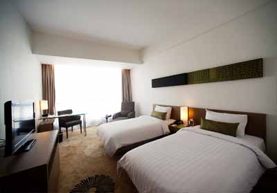 Kamar Superior Twin The Premiere Hotel Pekanbaru