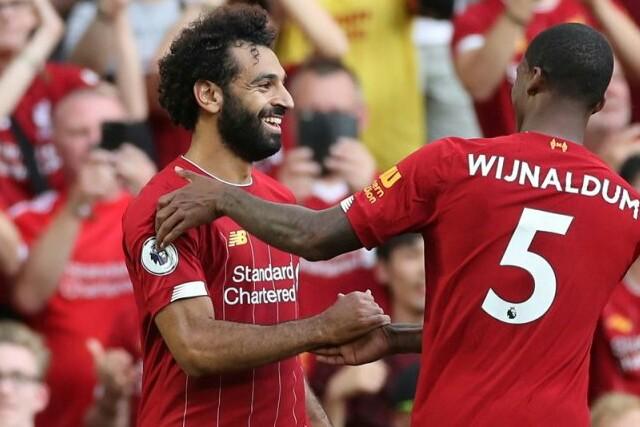 Penyerang Liverpool Mohamed Salah.