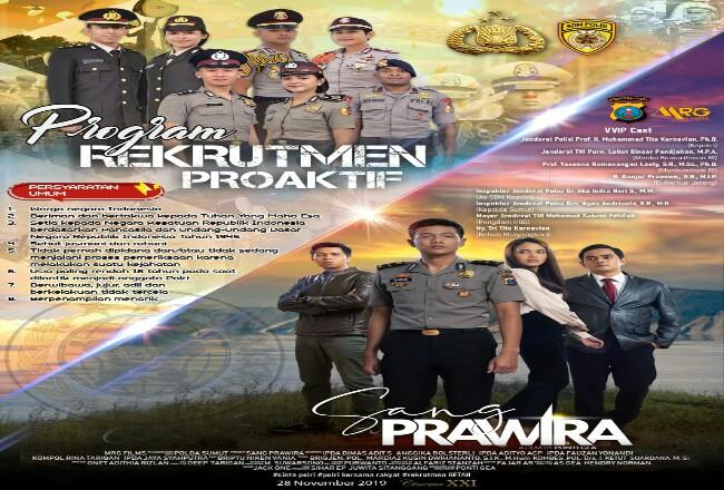 Rekruitmen Polda Riau.