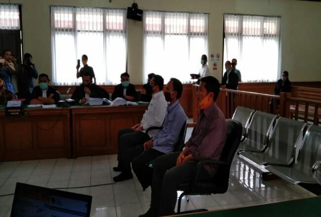 Ketua DPRD Riau hadir sebagai saksi di persidangan kasus korupsi Amril Mukminin.