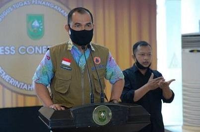 Kepala Bidang (Kabid) Kedaruratan BPBD Riau, Jim Ghafur