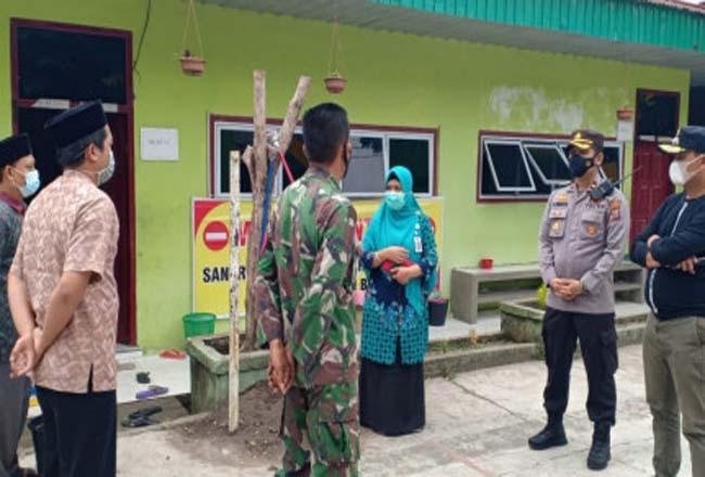 Ponpes Da El Hikmah Pekanbaru ditutup setelah 44 santrinya positif Covid-19.