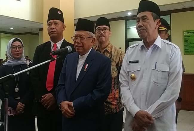 Wakil Presiden Maaruf Amin