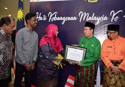 Gubernur Riau (Gubri) Syamsuar hadiri acara Hari Kebangsaan Malaysia ke-62.