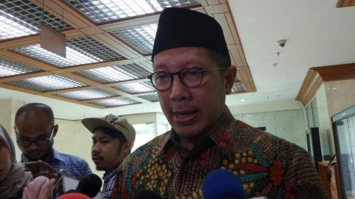 Menteri Agama Lukman Hakim Saifuddin di Kompleks Parlemen, Senayan, Jakarta, Senin (16/1/2017). Foto : TribunPekanbaru