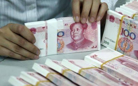 Mata uang China.
