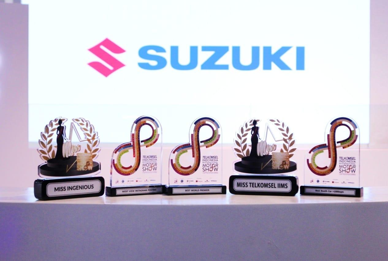 Pada malam puncak Telkomsel IIMS Awards 2019 (4/5), PT Suzuki Indomobil Sales berhasil menoreh prestasi melalui lima penghargaan.