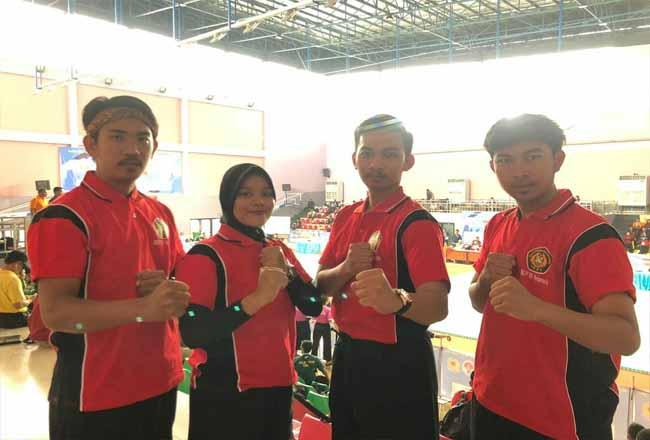 Empat atlet silat Meranti mengikuti Pra PON di Jakarta.
