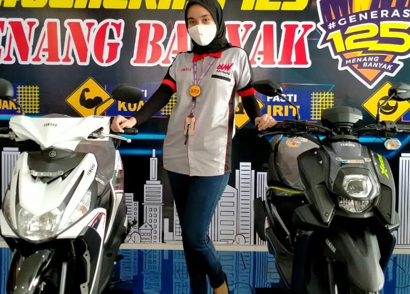 Promo menarik untuk pembelian sepeda motor Yamaha bagi karyawan.