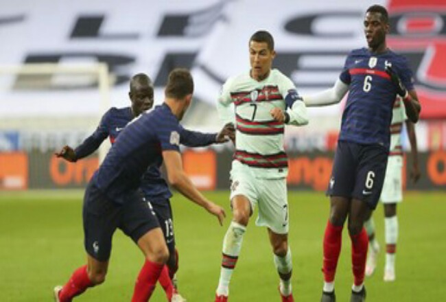 Ronaldo sempat menyatakan ingin main di laga lawan Swedia. Foto: Detik