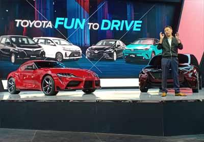 Toyota Perkenalkan 3 Mobil Terbaru di GIIAS 2019.