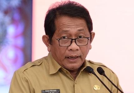 Sekretaris Daerah Provinsi (Sekda) Provinsi Riau, Yan Prana Jaya
