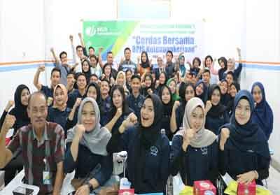 BPJS Ketenagakerjaan Cabang Pekanbaru Panam perkenalkan jaminan sosial ketenagakerjaan kepada mahasiswa Smart Fast Global Education