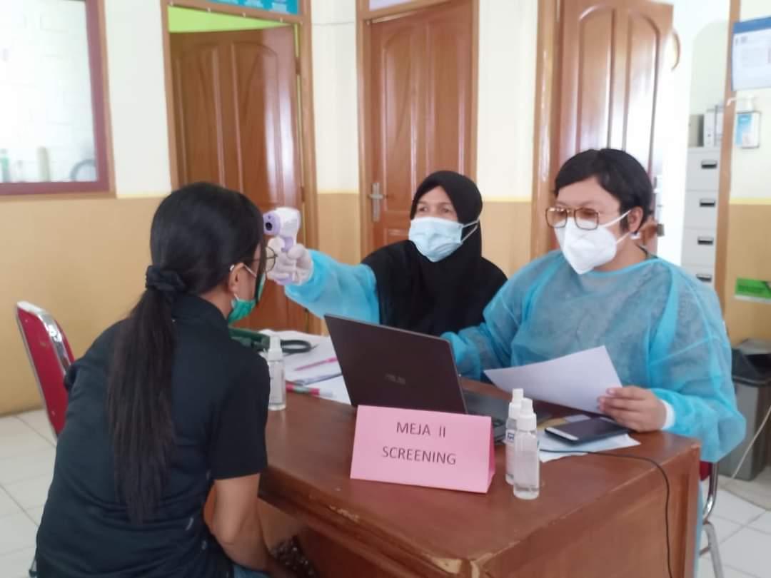 Satgas Covid-19 Kota Dumai mulai vaksinasi Covid-19 tahap 2 menyasar pelayanan publik.