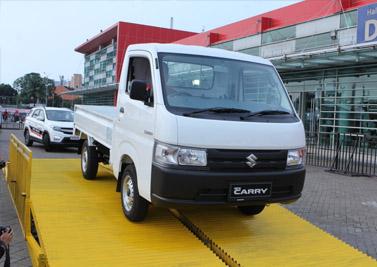 PT Suzuki Indomobil Sales menghadirkan inovasi kendaraan niaga andalannya, New Carry Pick Up yang menyematkan desain baru berlandaskan konsep ILMU (Irit bahan bakar & perawatan, Lama umur pakainya, Muat banyak, Untung di ujung).