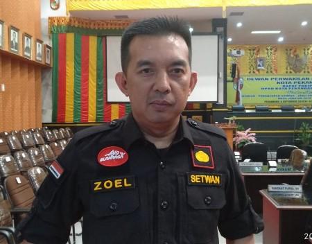 Plt Sekretaris DPRD Pekanbaru Zulfahmi Adrian.
