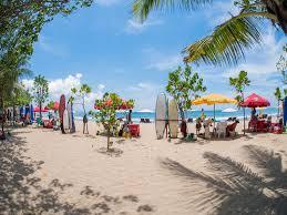 Ilustrasi liburan ke Bali